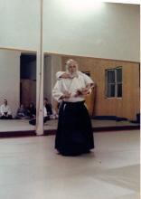 Iwamoto Sensei Ushiro Kubishime