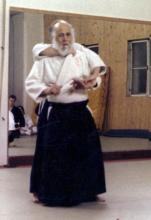 Iwamoto Sensei:Ushiro Kubishime